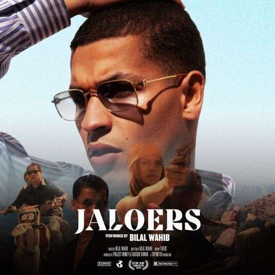 Coverafbeelding Jaloers - Bilal Wahib