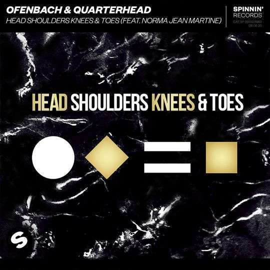 Coverafbeelding Ofenbach & Quarterhead (feat. Norma Jean Martine) - Head Shoulders Knees & Toes