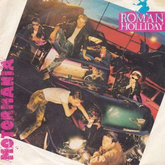 Coverafbeelding Roman Holliday - Motormania