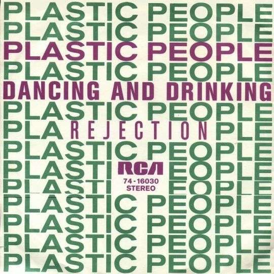 Coverafbeelding Plastic People - Dancing And Drinking