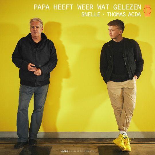 Coverafbeelding Papa Heeft Weer Wat Gelezen - Snelle & Thomas Acda