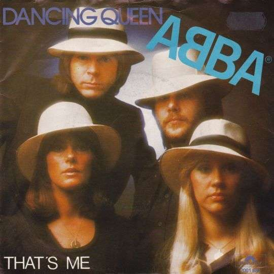 Coverafbeelding Dancing Queen - Abba