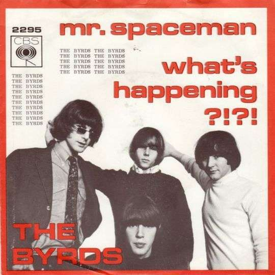 Coverafbeelding Mr. Spaceman - The Byrds