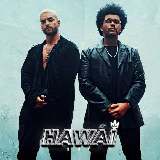 Coverafbeelding Hawái - Remix - Maluma & The Weeknd