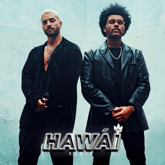 Coverafbeelding Hawái - Remix - Maluma & The Weeknd