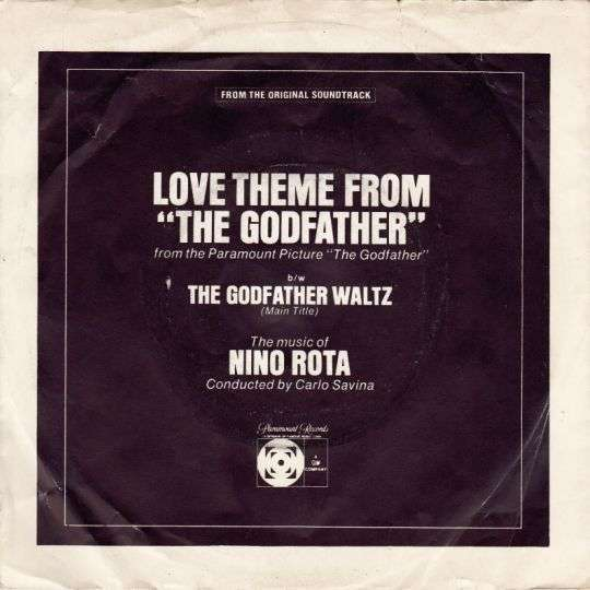 """Coverafbeelding The music of Nino Rota conducted by Carlo Savina - Love Theme From """"The Godfather"""""""