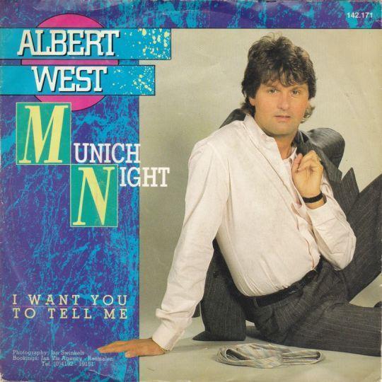 Coverafbeelding Albert West - Munich Night