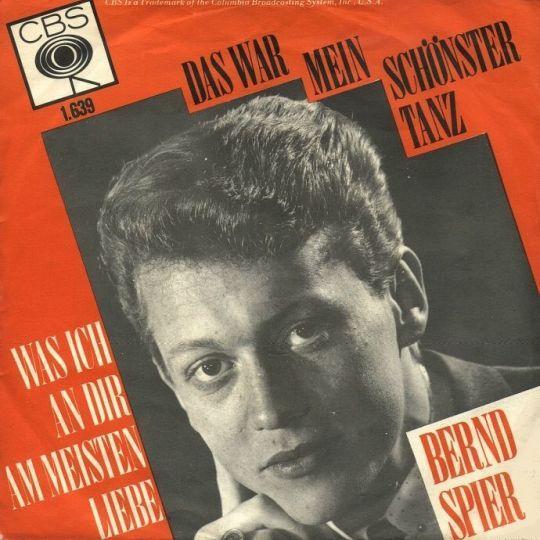 Coverafbeelding Bernd Spier - Das War Mein Schönster Tanz