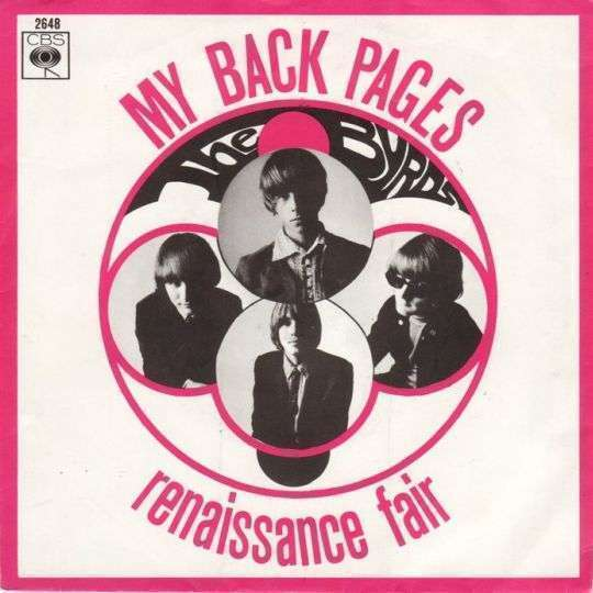 Coverafbeelding The Byrds - My Back Pages