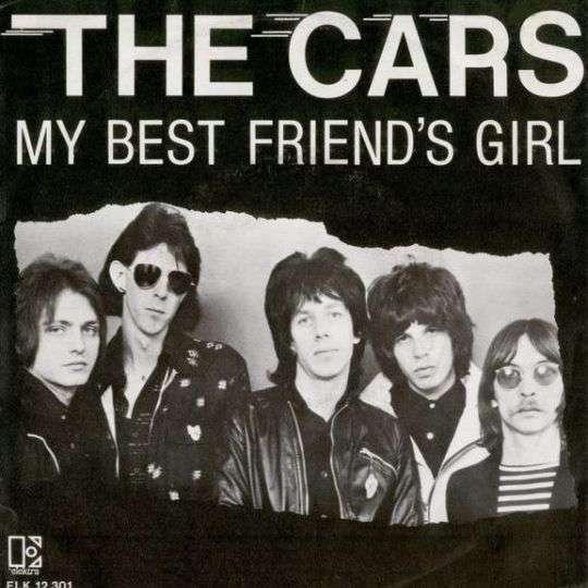 Coverafbeelding My Best Friend's Girl - The Cars