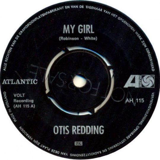 Coverafbeelding Otis Redding - My Girl