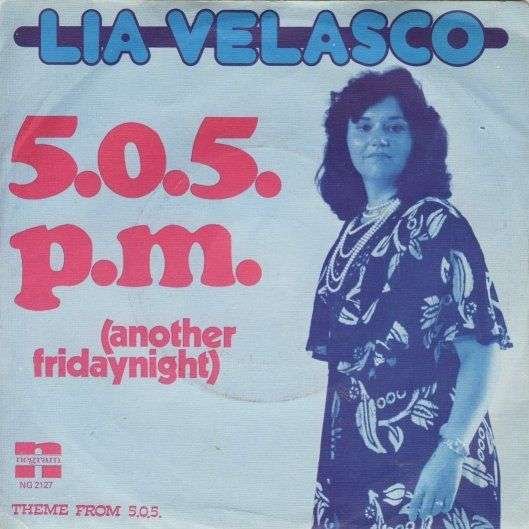 Coverafbeelding Lia Velasco - 5.0.5. P.M. (Another Fridaynight)