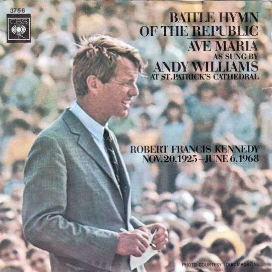Coverafbeelding Battle Hymn Of The Republic - Andy Williams