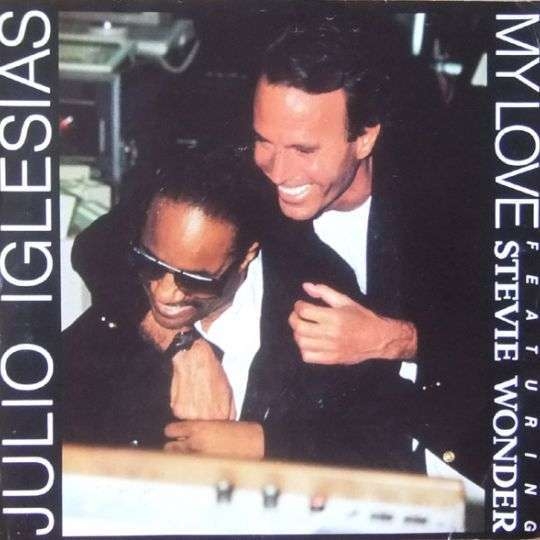 Coverafbeelding My Love - Julio Iglesias Featuring Stevie Wonder