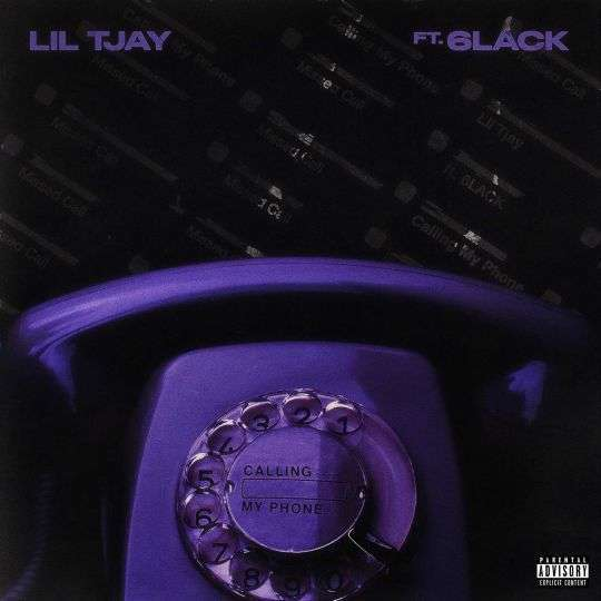 Coverafbeelding Lil Tjay ft. 6lack - Calling My Phone
