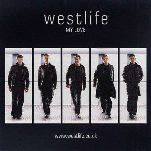 Coverafbeelding My Love - Westlife