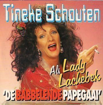 Coverafbeelding De Babbelende Papegaai - Tineke Schouten Als Lady Lachebek