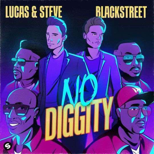 Coverafbeelding No Diggity - Lucas & Steve X Blackstreet