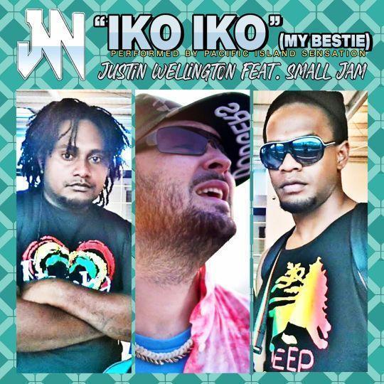 Coverafbeelding Justin Wellington feat. Small Jam - Iko Iko (My Bestie)