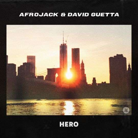 Coverafbeelding Hero - Afrojack & David Guetta