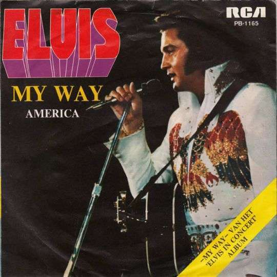 Coverafbeelding Elvis Presley - My Way