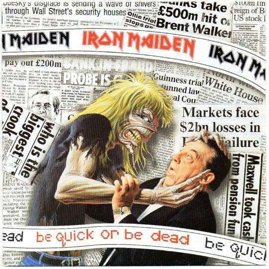 Coverafbeelding Be Quick Or Be Dead - Iron Maiden