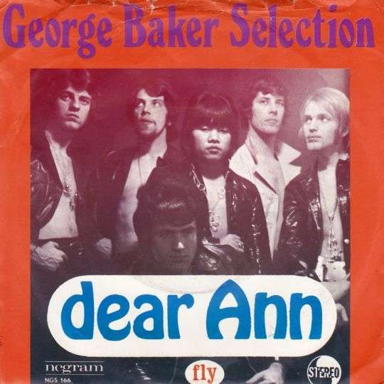 Coverafbeelding Dear Ann - George Baker Selection