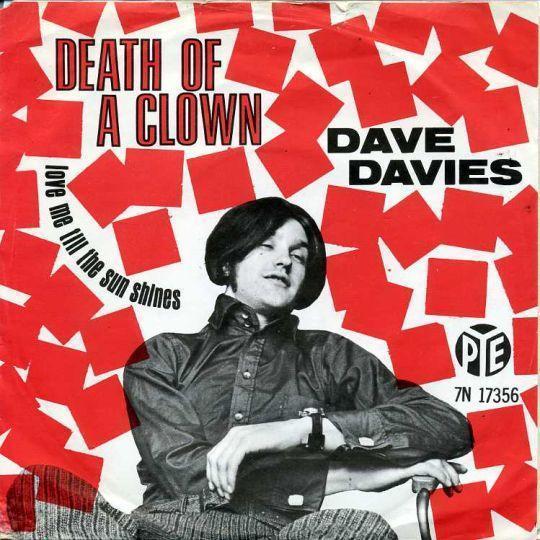 Coverafbeelding Death Of A Clown - Dave Davies