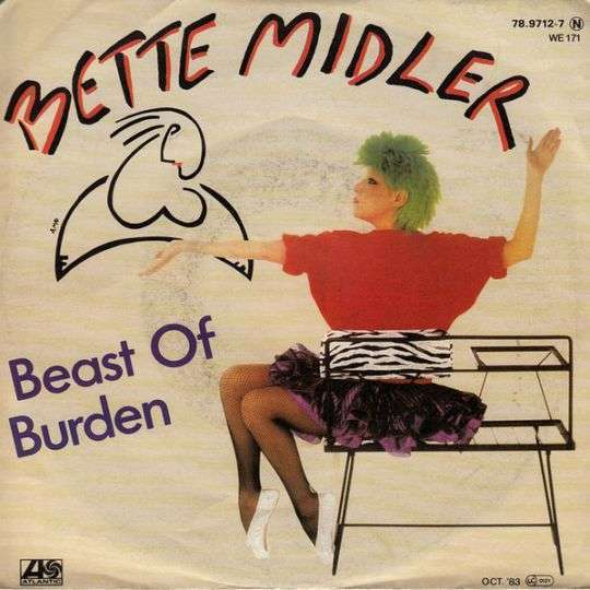 Coverafbeelding Beast Of Burden - Bette Midler