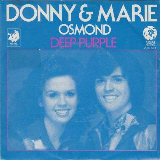 Coverafbeelding Deep Purple - Donny & Marie Osmond