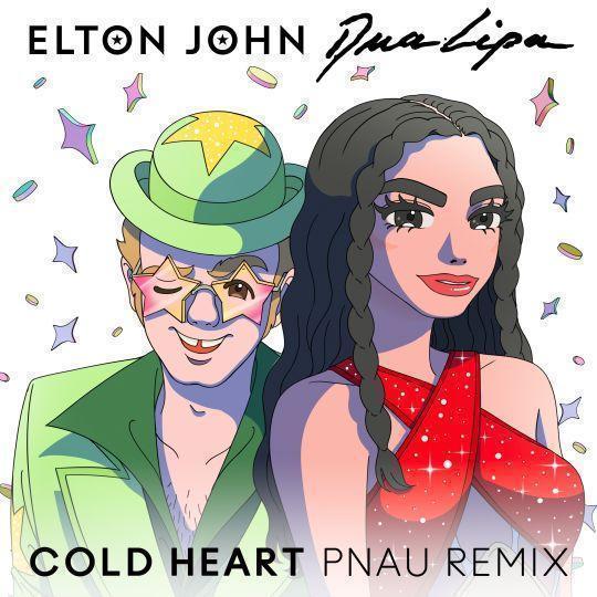 Coverafbeelding Cold Heart - Pnau Remix - Elton John & Dua Lipa