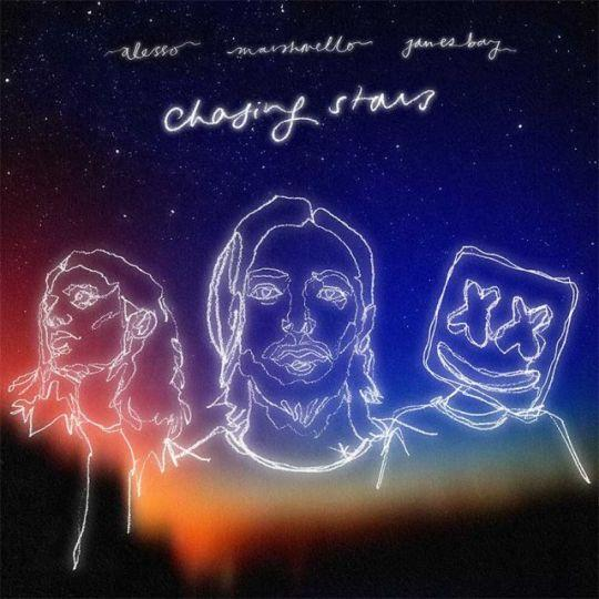 Coverafbeelding Alesso & Marshmello feat. James Bay - Chasing Stars