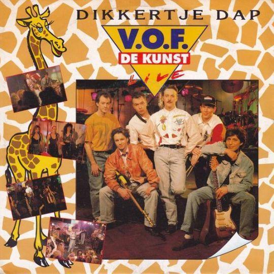 Coverafbeelding Dikkertje Dap - Live - V.o.f. De Kunst