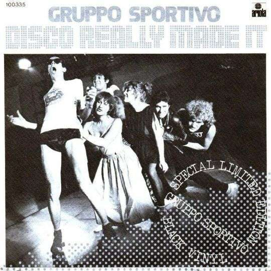 Coverafbeelding Disco Really Made It - Gruppo Sportivo