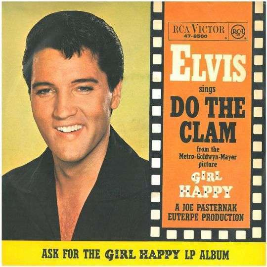 Coverafbeelding Do The Clam - Elvis