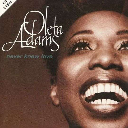 Coverafbeelding Never Knew Love - Oleta Adams