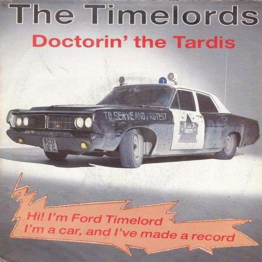 Coverafbeelding The Timelords - Doctorin' The Tardis
