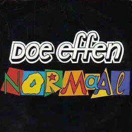 Coverafbeelding Doe Effen Normaal - Normaal