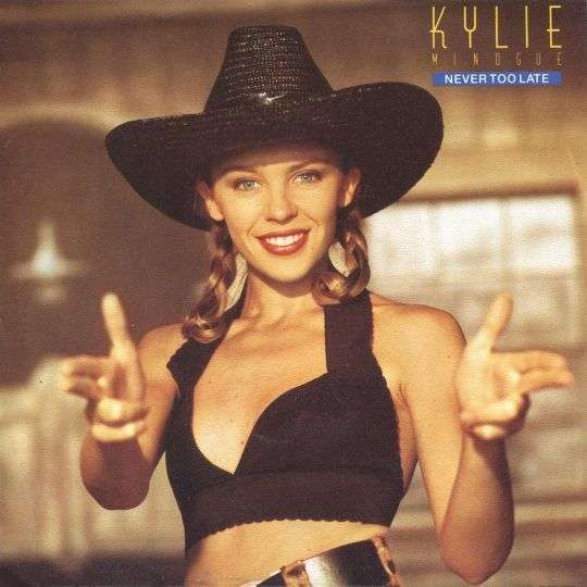 Coverafbeelding Never Too Late - Kylie Minogue