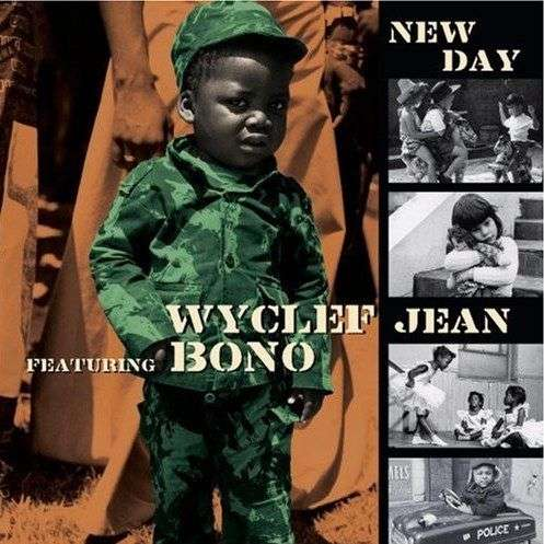 Coverafbeelding Wyclef Jean featuring Bono - New Day