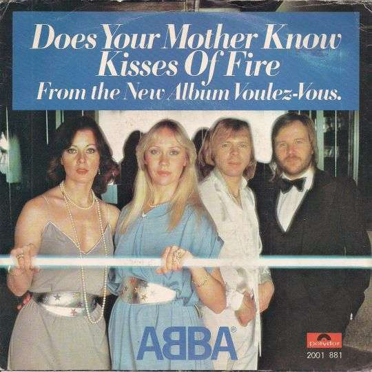 Coverafbeelding Does Your Mother Know - Abba