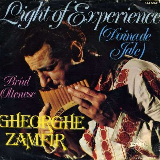 Coverafbeelding Light Of Experience (Doina De Jale) - Gheorghe Zamfir