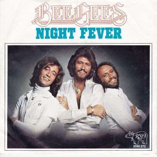 Coverafbeelding Bee Gees - Night Fever