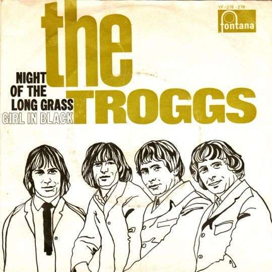 Coverafbeelding The Troggs - Night Of The Long Grass