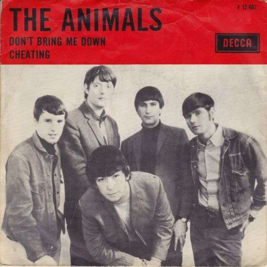 Coverafbeelding Don't Bring Me Down - The Animals
