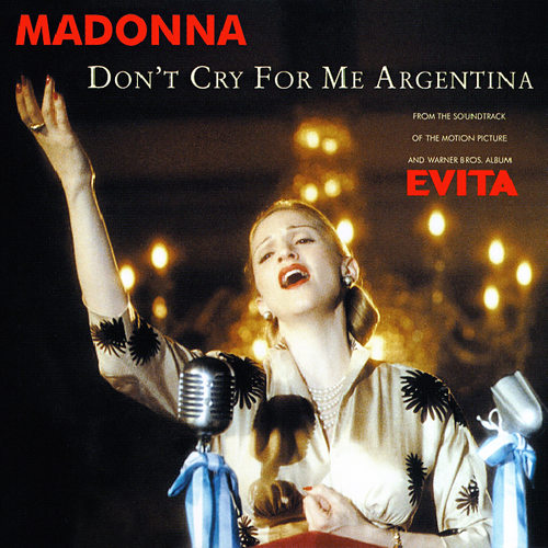 Coverafbeelding Don't Cry For Me Argentina - Madonna