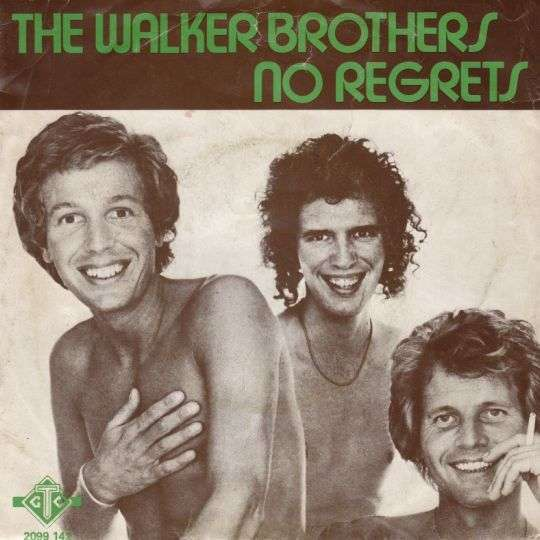 Coverafbeelding No Regrets - The Walker Brothers