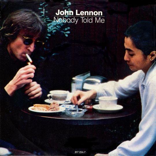 Coverafbeelding Nobody Told Me - John Lennon