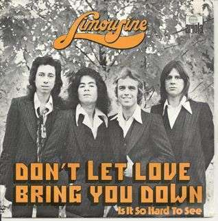 Coverafbeelding Don't Let Love Bring You Down - Limousine
