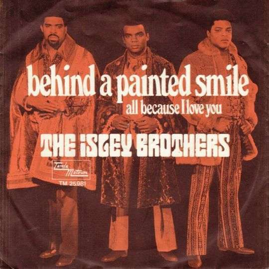 Coverafbeelding Behind A Painted Smile - The Isley Brothers